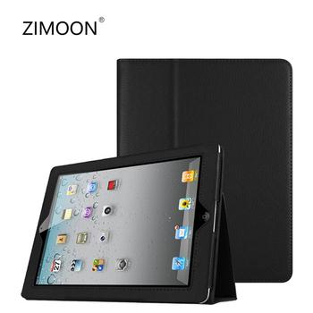 Inteligentne etui na iPad 9 7 2017 2018 iPad Air 4 3 na iPad mini 3 4 5 okładka na iPad 2 3 4 iPad Pro 9 7 10 5 11 etui na iPad 10 2 tanie i dobre opinie zimoon Powłoka ochronna skóry 9 7 CN (pochodzenie) ZM9002 Stałe 18cm Dla apple ipad iPad 9 7 cala z 2017 roku moda for iPad