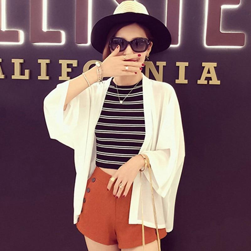 2019 Summer Cardigan Boho Beach   Shirts   Women   Blouses     Shirt   Chiffon   Blouse   Sunscreen Lady Clothing Blusas