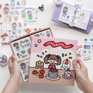 1pakcs/LOT soft series Creative deceration DIY peper washi sticker