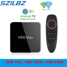 H96 MAX X2 Android TV Box GB 64GB S905X2 Android 8.1 1080P H