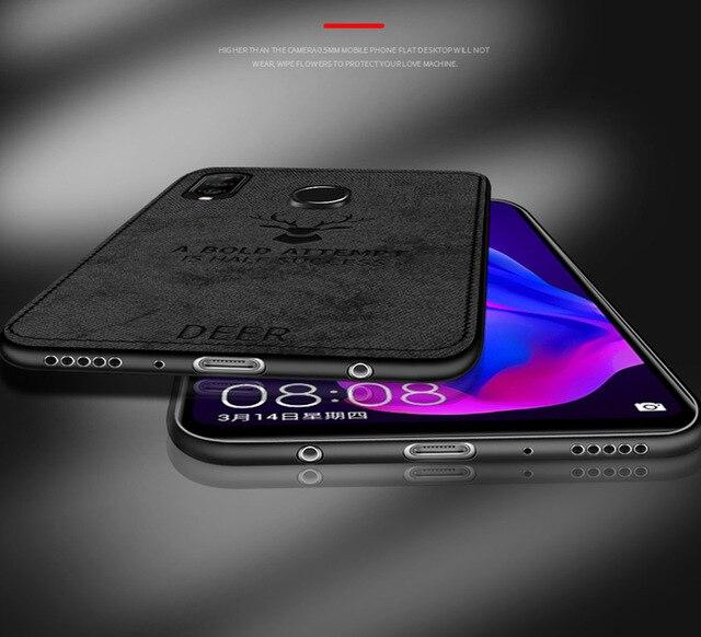 Para Huawei P30 Lite funda de tela cubierta Durable TPU funda de teléfono para Huawei P 30 Lite P30 Pro cubierta protección completa parachoques