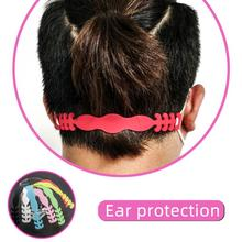 1PC Adjustable Face Mask Hook Men And Women Multicolor Ear Strap Extension Silicone Ear Buckle Outdoor Riding Belt Mask Accessor