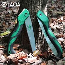 LAOA 9T Folding Saw Garden Pruning Saw Outdoor Handsaw Sharp Saw