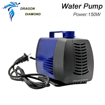 150W Water Pump Engraving Machine Tool 220V 5M for CNC Router Machine Water Cooled Spindle Motor 4kw 5.5kw