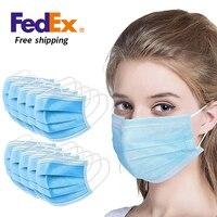 Fedex freeshipping 3 layers masks mask ffpmasks masker can ship to peru