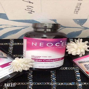 Image 2 - American genuine Neocell collagen+c 250 grains 1 bottle beauty anti aging free delivery beauty and skin care