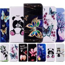 Phone Cover Case For Samsung Galaxy S10 S10E S9 S8 S7 Edge j2Pro A6 A7 A8 J4 J6 Plus 2018 Cases Capa Wallet Leather Coque D07Z(China)