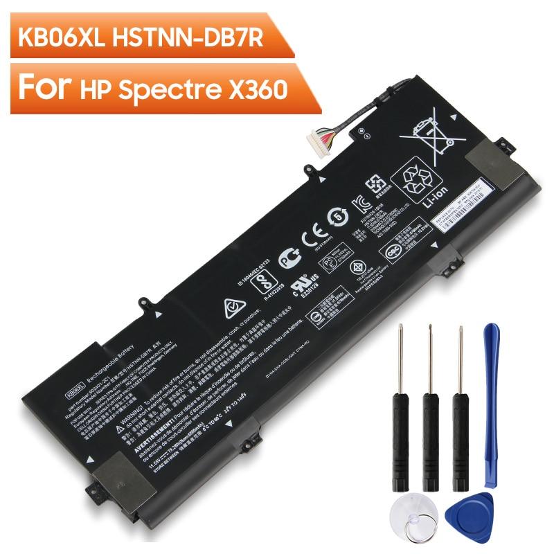 Купить оригинальный аккумулятор kb06xl для hp spectre x360 15 bl002xx