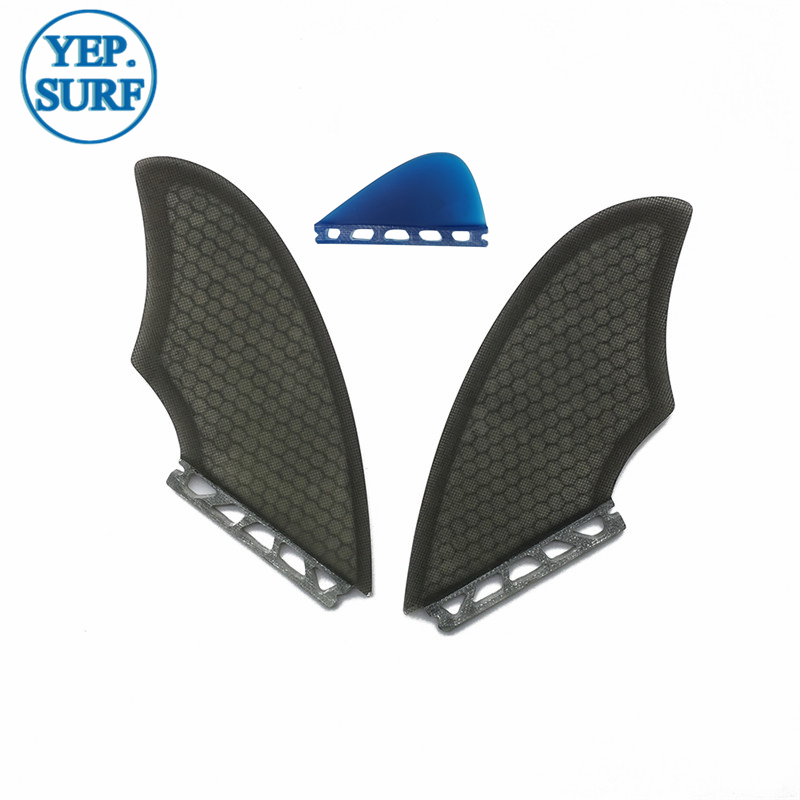 TWIN FIN Surfboard Future Fins Keel Fins With  Future Knubster Centre Kneel Fin Black/white Quillas Future