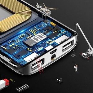 Image 3 - Für Xiaomi MI iphone X Anmerkung 8 30000mah Power Bank Externe Batterie PoverBank 2 USB LED Power Tragbare Mobile telefon Ladegerät