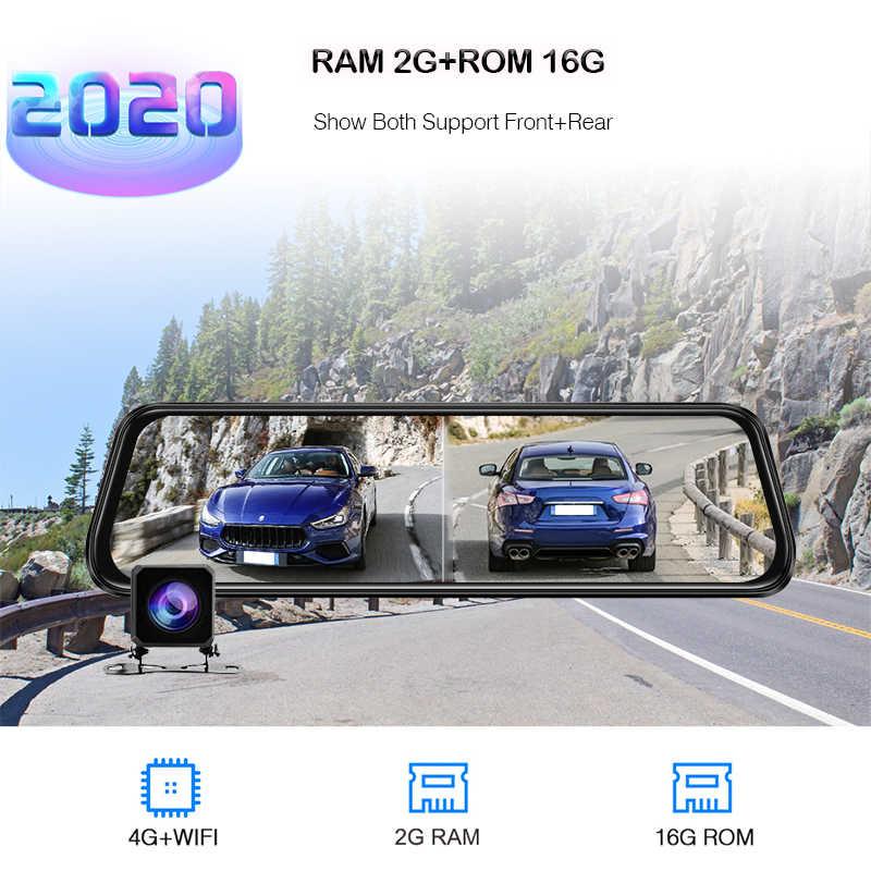 Obdpeak A980 adas 4 グラム Android8.1 車の dvr バックミラーダッシュカメラ wifi fm bluetooth の gps 2 ギガバイト 1080 1080p registrator 自動 dashcam