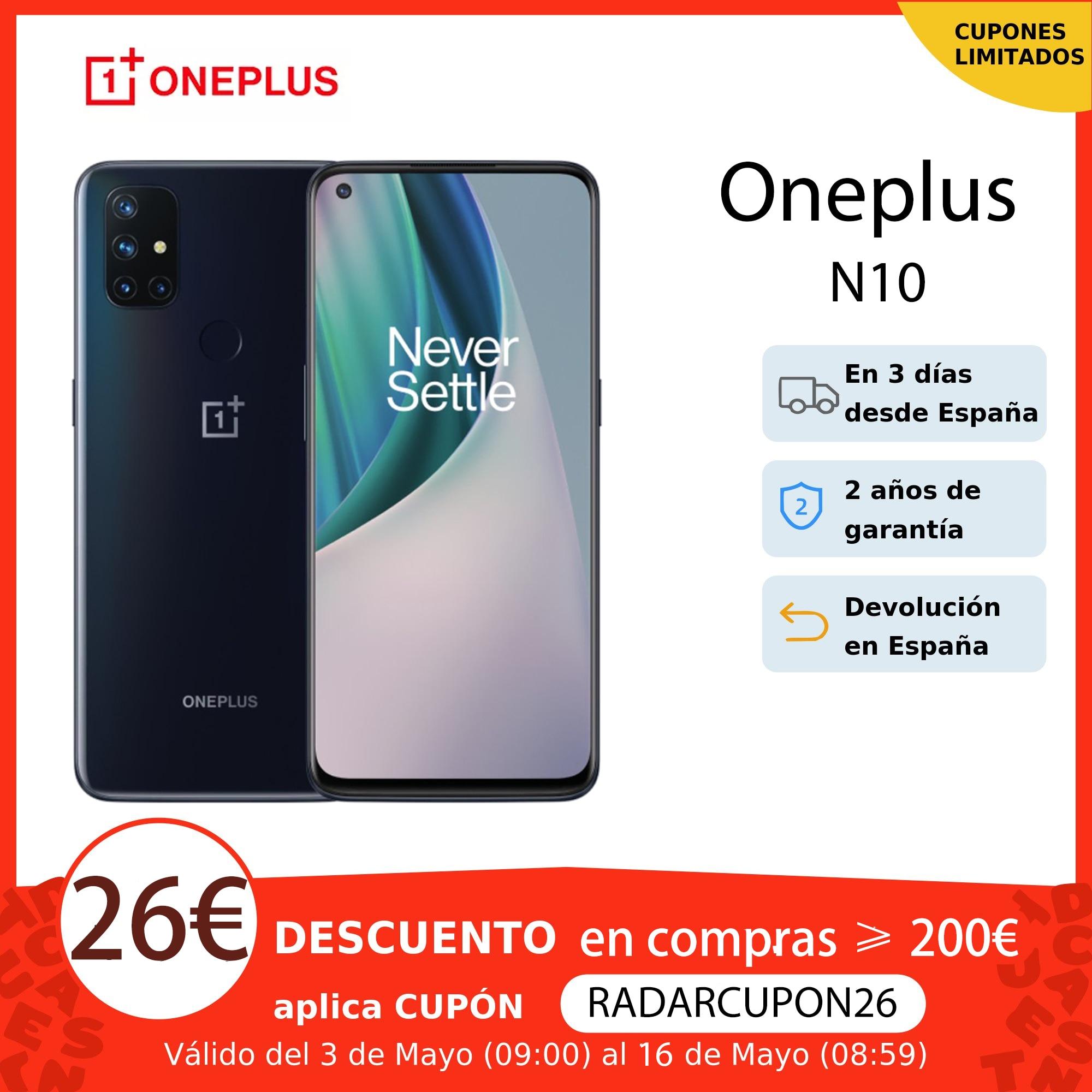 World Premiere Global Version OnePlus Nord N10 5G Cellphone 6GB 128GB Snapdargon 5G 6.49'' 90Hz FHD+ Display Warp Charge 30T NFC|Cellphones| - AliExpress