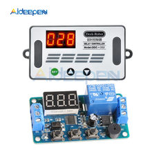 цена на DDC-332 DC 12V Timer Delay Relay LED Digital Relays Trigger Cycle Timer Delay Switch Timing Control Module Board with Car Buzzer