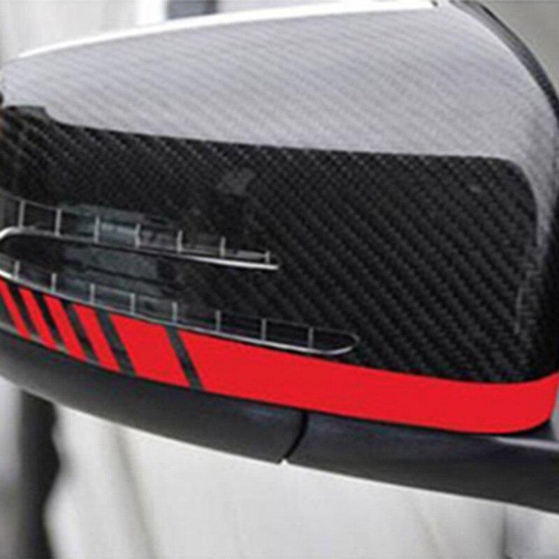 2шт зеркало заднего вида автомобиля стикер этикеты винила грузовик боковые полосы кузова автомобиля аксессуары автомобиля стикер полосы светоотражающие наклейки
