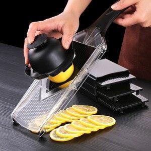 Vegetable slicer, lemon potato