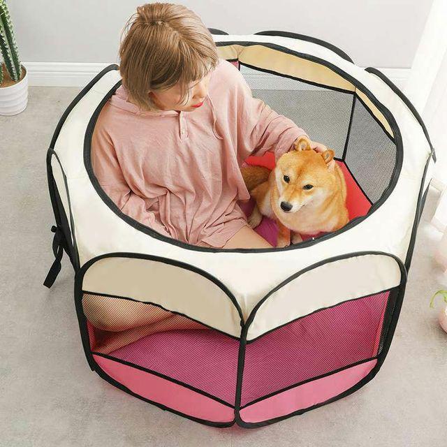 Portable Folding Kennel 3