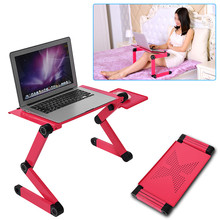 Notebook Laptop Desk Adjustable Laptop Desks Portable TV Bed Tray PC Table Stand Notebook Table Desk Stands Dropshipping