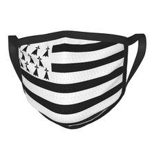 Respirator Flag Face-Mask France Brittany Breton Mask-Protection Mouth Reusable Nation