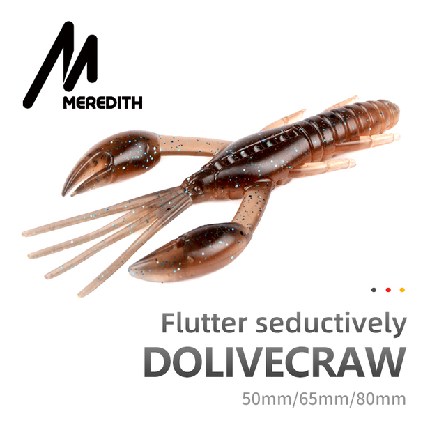 MEREDITH DoliveCraw – Rapujigi 50mm 65mm ja 80mm
