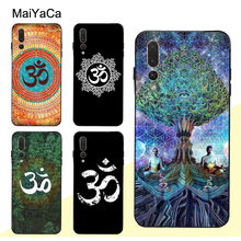 MaiYaCa Aum Om Yoga Symbol Hindu Case For Huawei P30 Pro P40 P10 P20 Lite Mate 2