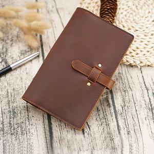 Image 4 - MatoTu A6 A5 Leather Binder Spiral Notebook Organizer Ring Binder Planner Handmade 80 Sheets with UsefulTools