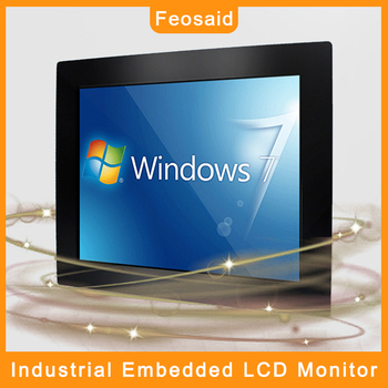 Feosaid 12 inch Embedded Industrial Tablet Computer IPS Monitor 12 Resistance Touch LCD display Metal case 1280x800 DVI VGA USB 19 21 5 23 6 inch monitor vga dvi resistance usb touch lcd computer display screen open frame computer monitor screen 1440 900