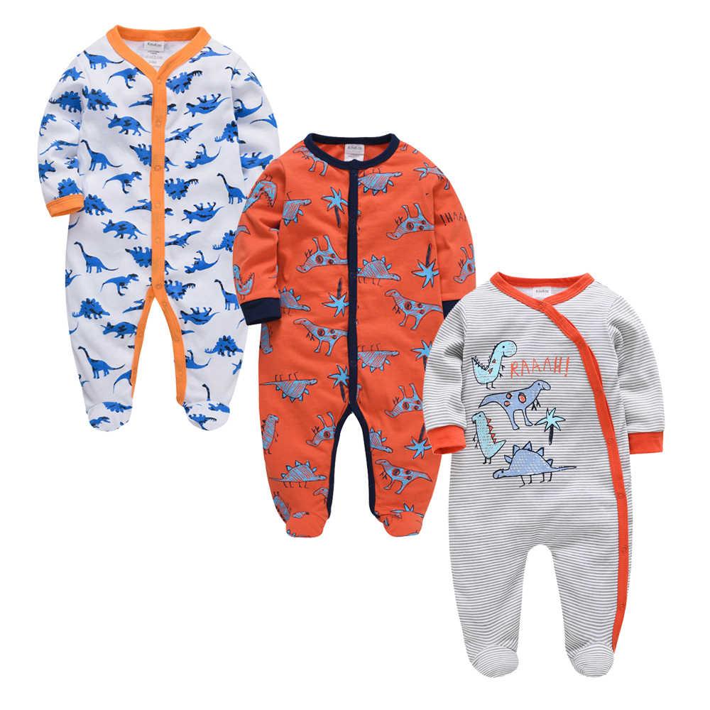 2020 3 개/몫 아기 소녀 소년 의류 여름 면화 Jumpsuit 신생아 아기 Rompers 0-3 m 긴 소매 의류 새로운 스타일