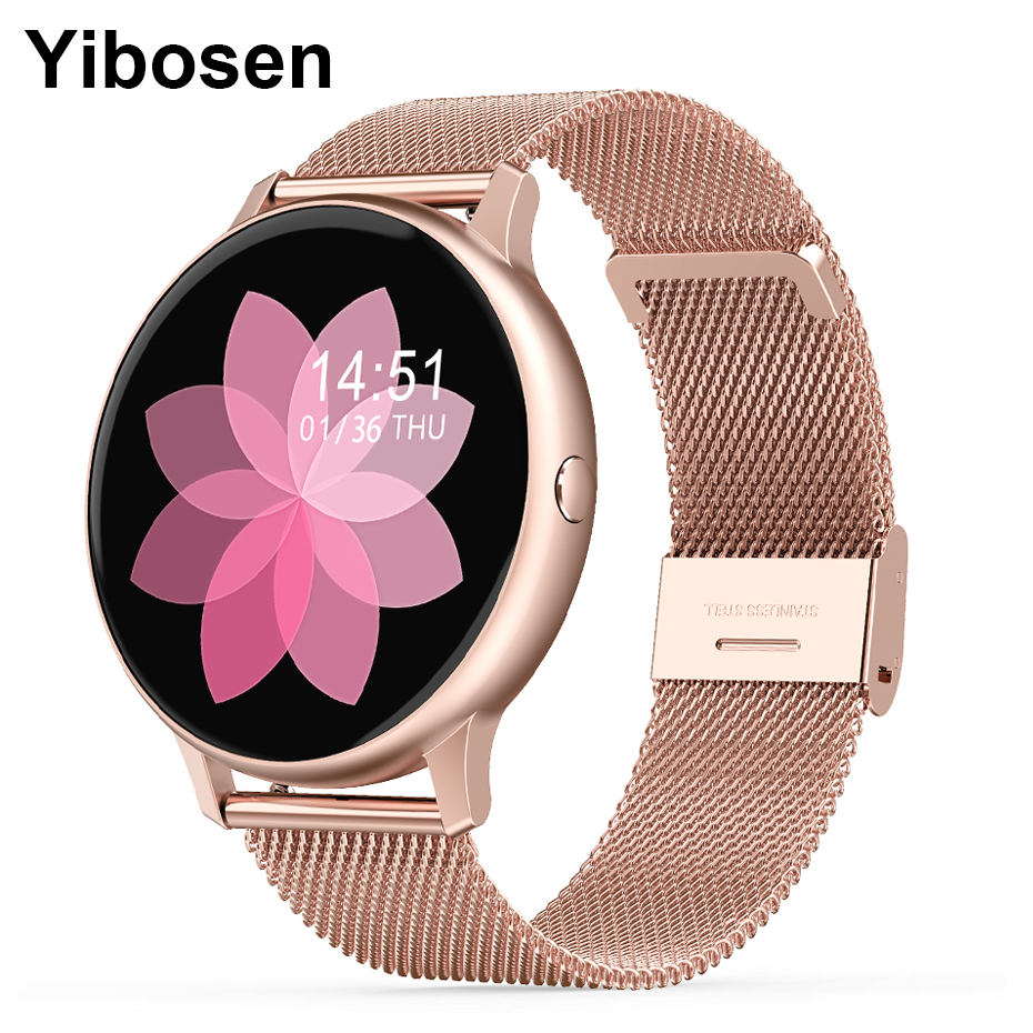 Yibosen 2020 Men Women Smart Watch 1.3
