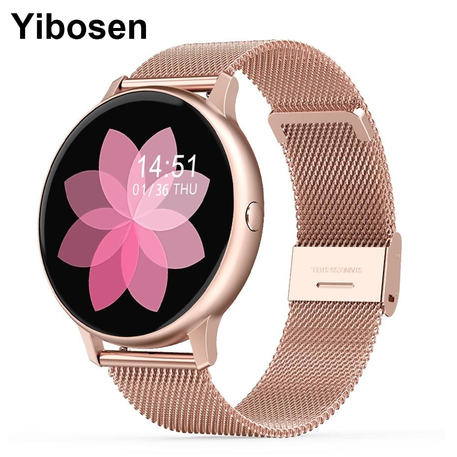 Yibosen 2020 Men Women Smart Watch 1.3