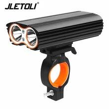 JLETOLI Rainproof Rechargeable Bike Light Bicycle F