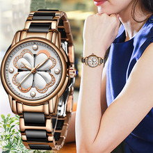 2019 nowy SUNKTA Top marka luksusowe wodoodporne kobiety zegarki moda prosty ceramiczny zegarek kwarcowy kobiety sukienka zegar Relogio Feminino