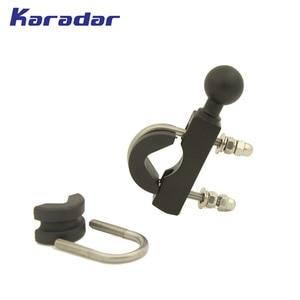 Image 5 - motorcycle handle bar mount /bracket motorcycle GPS mount for  Garmin Zumo 350 390 395 550 595 LM GPS 1096200 BK