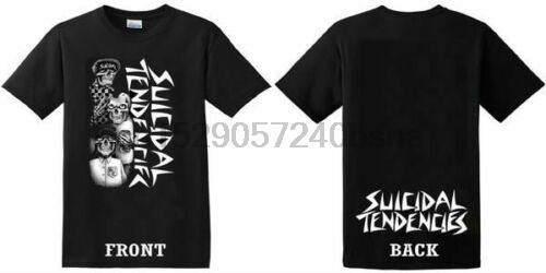 (SKATE) Suicidal Tendencies - Tres Vatos - T Shirt MenT-Shirts Summer Style Fashion Swag Men T Shirts