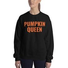pumpkin sweatshirt printed hoodie womens hoodies pullover gothic print vintage women halloween black clothes