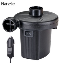 12V Portable Electric Inflatable Pump Quick Air Filling Compressor Air Pump Blower For Car Camping Life Buoy Boat Cushion Home
