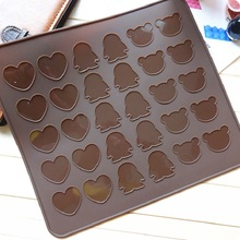 DIY macarons/high temperature silicone pad Penguin cookie/cake/little bear 26*29CM