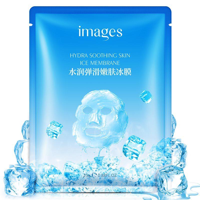Изображения Гиалуроновая кислота глубокое увлажнение маска для лица Анти Старение Отбеливание глубина пополнение льда маска для лица Уход...