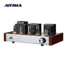 AIYIMA Amplificador de Audio clase un tubo Amplificador de potencia al vacío profesional Amplificador de tubo 6n2 6p1 estéreo Hifi sonido altavoz Amplificador