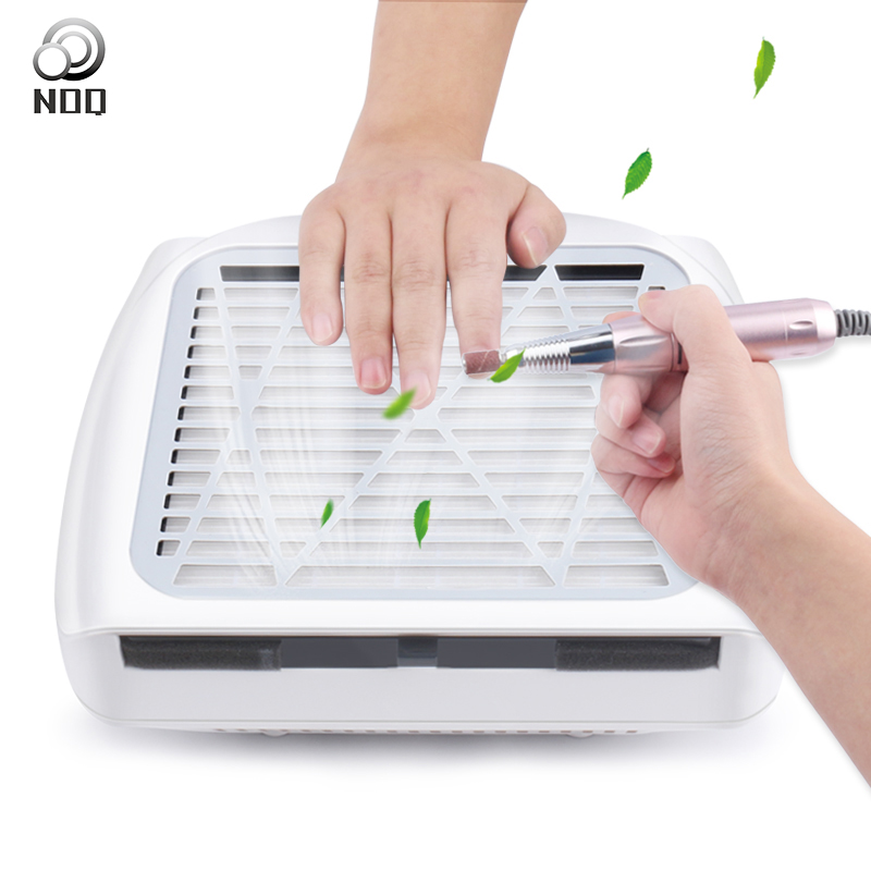 Nail Dust Collector Drill Manicure Machine With Vacuum Cleaner Powerful Electric Nails Drill Reducer Tools Salon Equipment