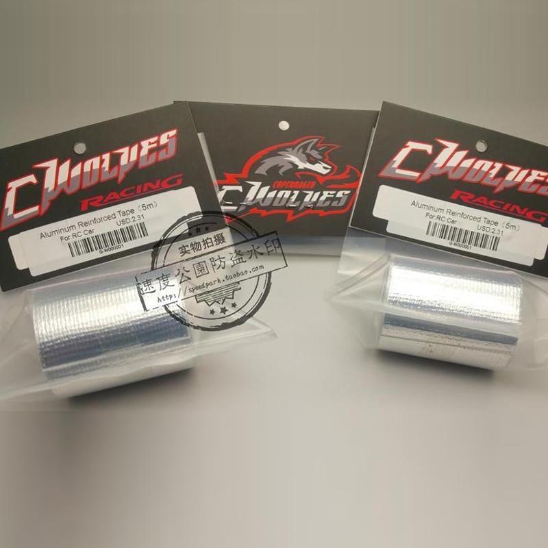 Slidelogy Aluminum Reinforced Body Repair Tape 250cm x 5cm RC Cars #SDY-0178
