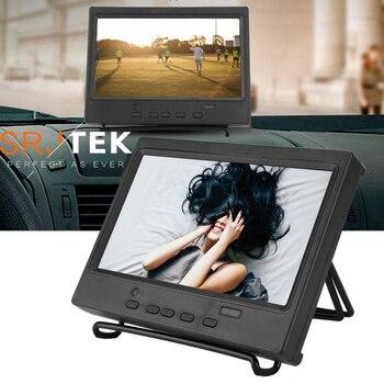 7-дюймовый портативный монитор дисплея 1024x600, многофункциональный дисплей с поддержкой HDMI/VGA/AV вход, контроллер ЖК-монитора, маленький монитор