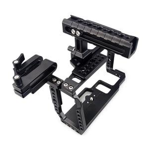 Image 4 - MAGICRIG  Portable Camera Cage  With NATO Handle Grip + T5 SSD Card Mount Clamp for Blackmagic Pocket Cinema Camera BMPCC 4K&6K