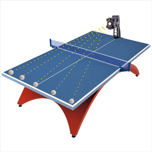 Image 5 - SUZ Wireless Remote Control Table Tennis Robot S302 PING PONG Training Machine Automatic Tennis Ball Machine  for 40+ balls