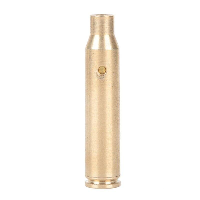 Calibrator Aiming CAL .223 REM Red Laser Bullet Shaped Bore Sighter Cartridge Aluminium Boresighter Laser Pen Red Dot