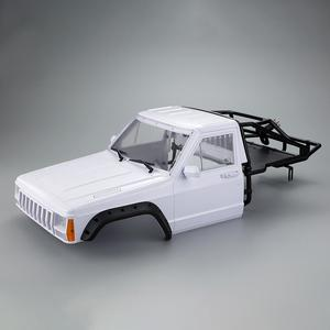 Car Cherokee Body Cab & Back-Half Cage 313mm Wheelbase for 1/10 LeadingStar Crawler TRX4 Axial SCX10 90046 Redcat GEN 8 Scout II(China)