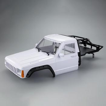 Car Cherokee Body Cab & Back-Half Cage 313mm Wheelbase for 1/10 LeadingStar Crawler TRX4 Axial SCX10 90046 Redcat GEN 8 Scout II 2019 new car body cab with back half cage for 1 10 rc crawler trx4 axial scx10 90046 car shell