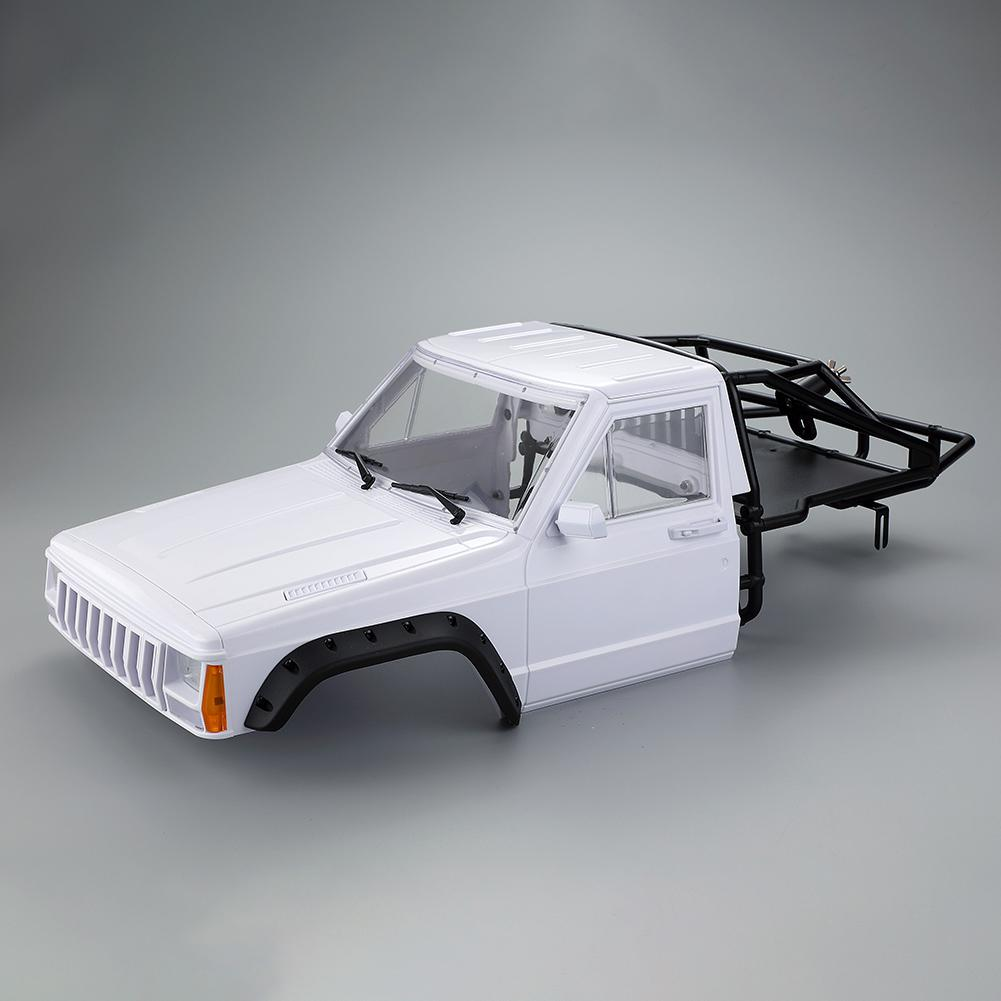 RC Car Cherokee Body Cab & Back-Half Cage 313mm Wheelbase For 1/10 RC Crawler TRX4 Axial SCX10 90046 Redcat GEN 8 Scout II