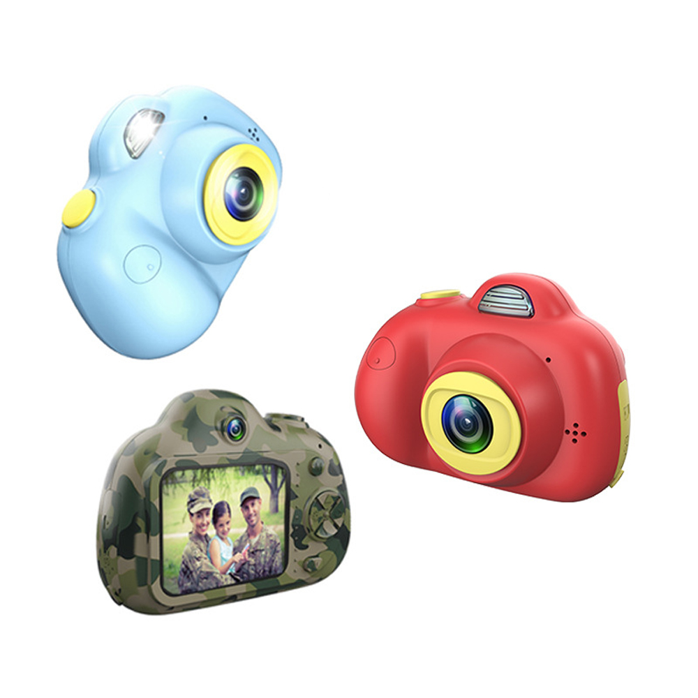Kids Digital Camera Toys 2600W Pixel HD Video Cameras Photography Kids Outdoor Party Birthday Gift