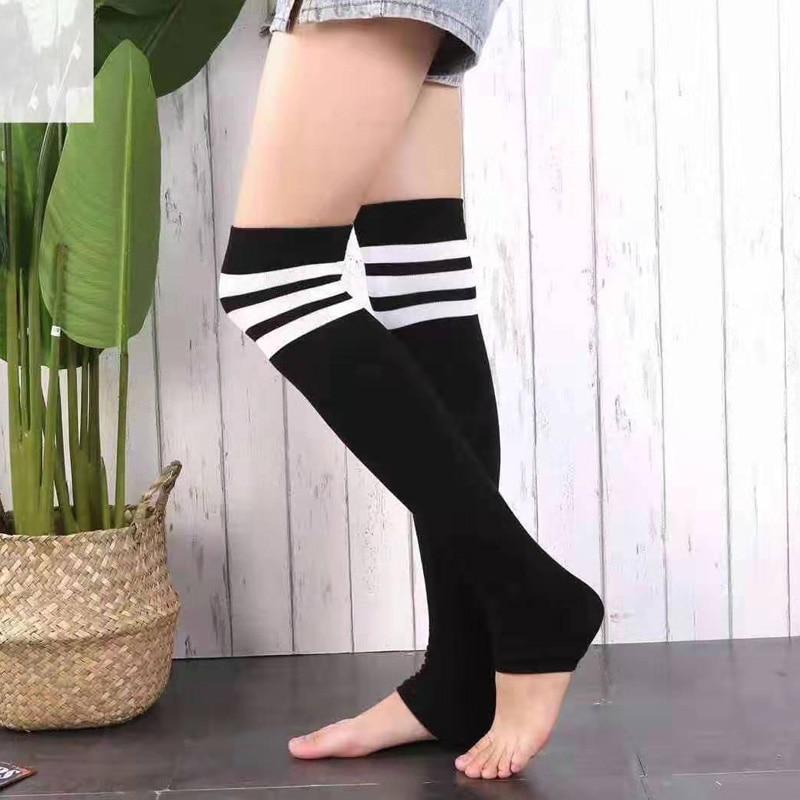 Socks Fashion Stockings Casual Cotton Thigh High Over Knee Acrylic High Socks Girls Womens Female Long Knee Socks
