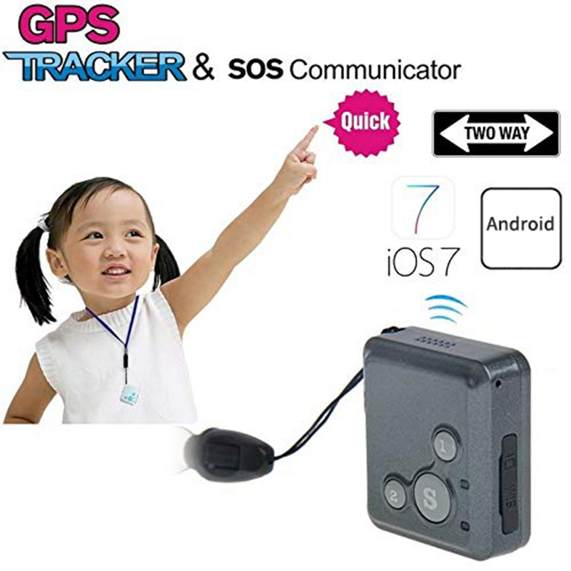 RF-V16 Mini GPS Tracker Hand-Free Talk 2G GSM GPS Locator SOS Call Voice Monitor Free APP Tracke For Children Kids